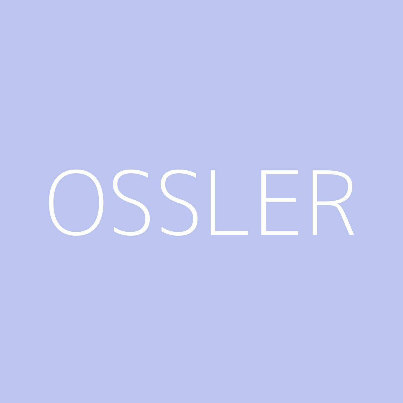 Ossler Playlist Artwork