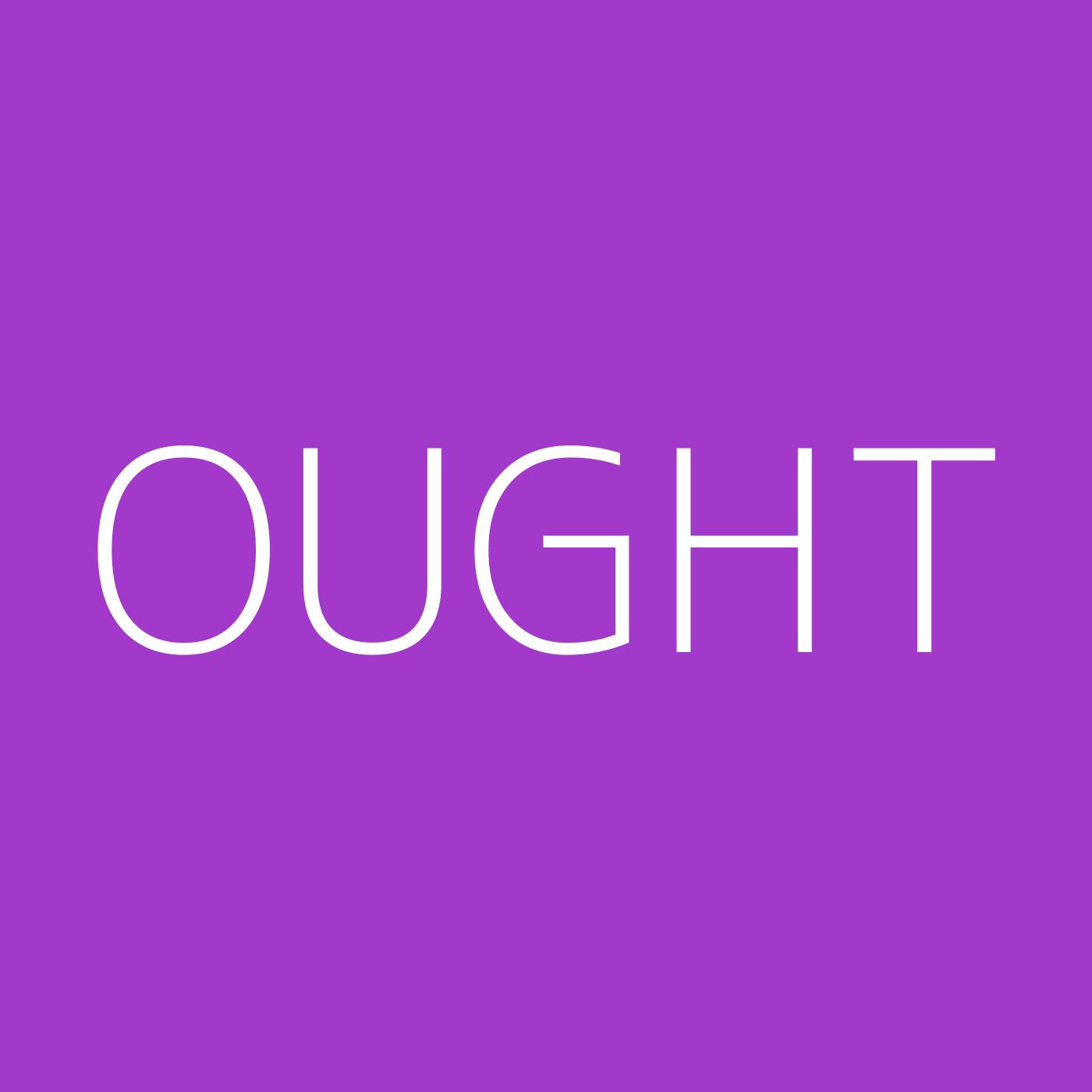 Ought Playlist Artwork