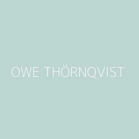 Owe Thörnqvist Playlist – Most Popular