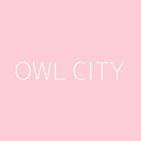 Owl City Playlist – Most Popular