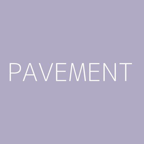 Pavement Playlist – Most Popular