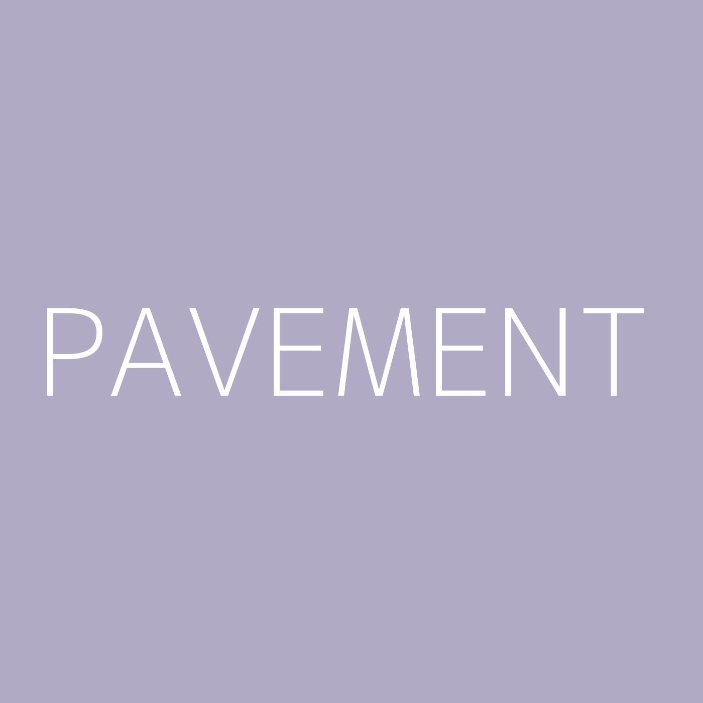Pavement Playlist Artwork
