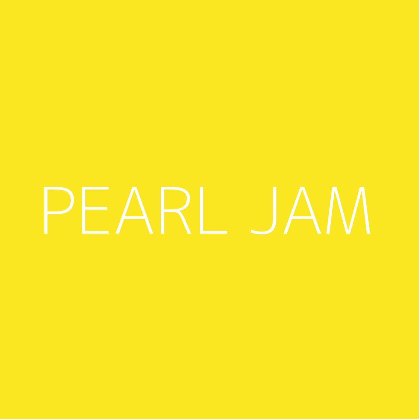 Pearl Jam Playlist Artwork