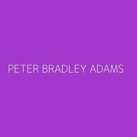 Peter Bradley Adams Playlist – Most Popular