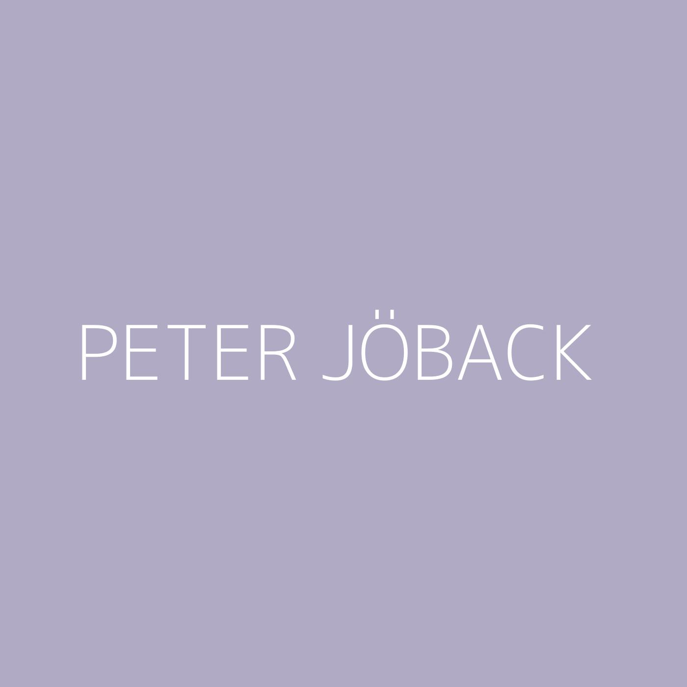 Peter Jöback Playlist Artwork