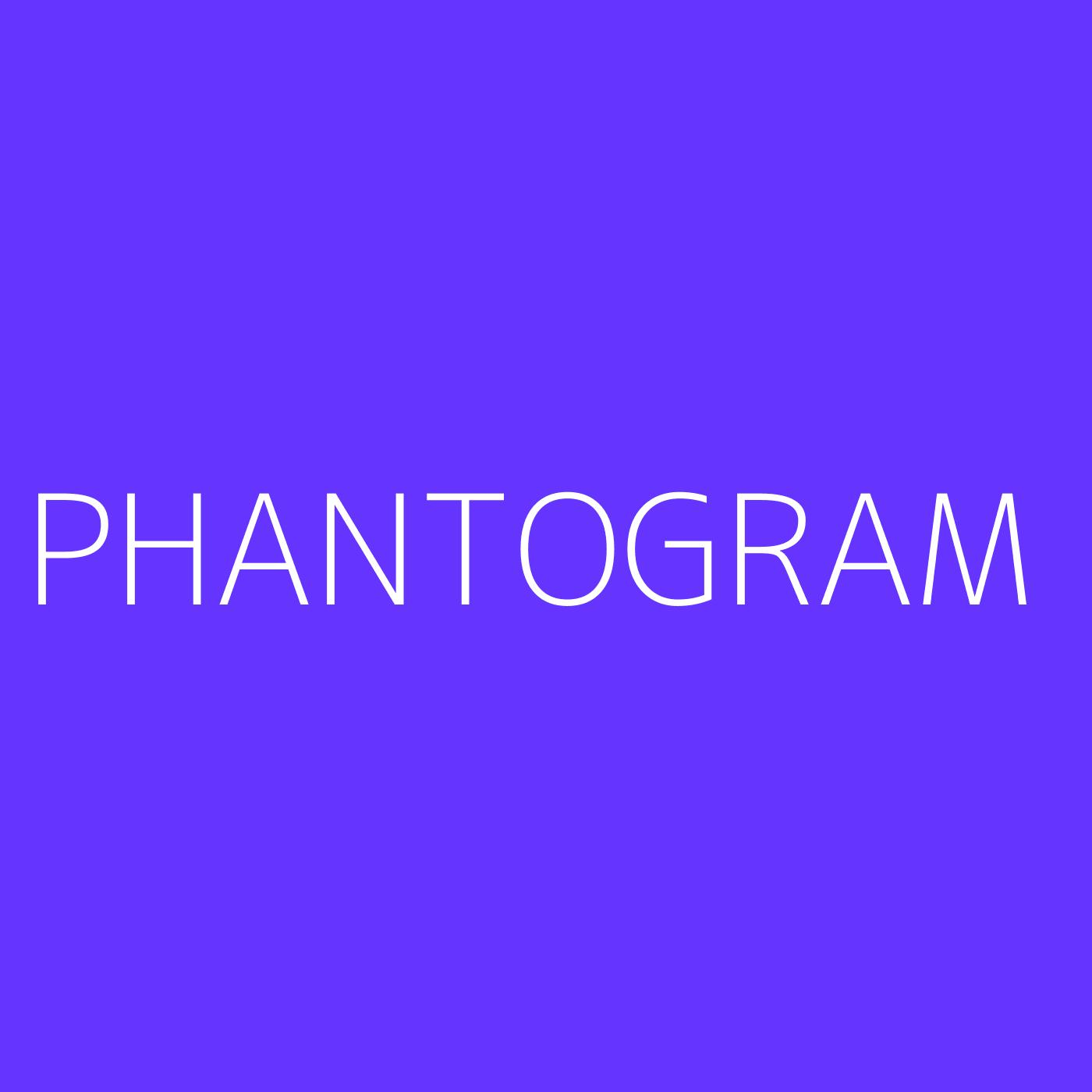 Phantogram Playlist Artwork