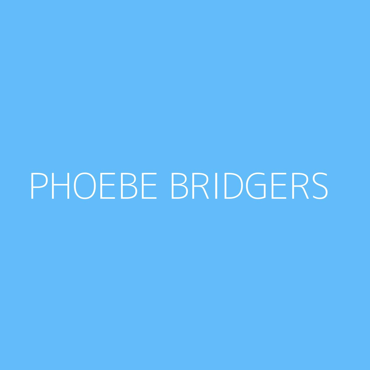 Phoebe Bridgers Playlist Artwork