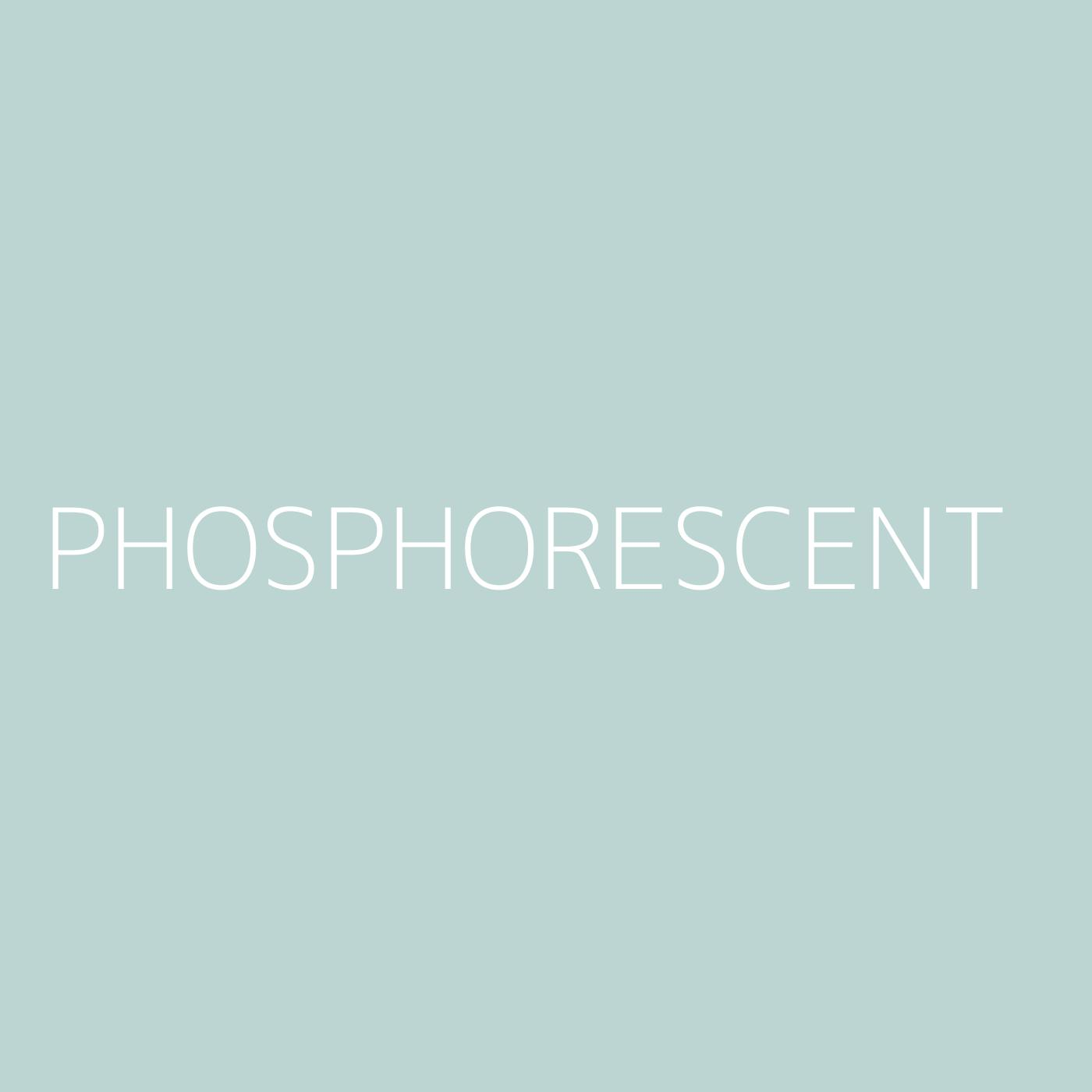 Phosphorescent Playlist Artwork