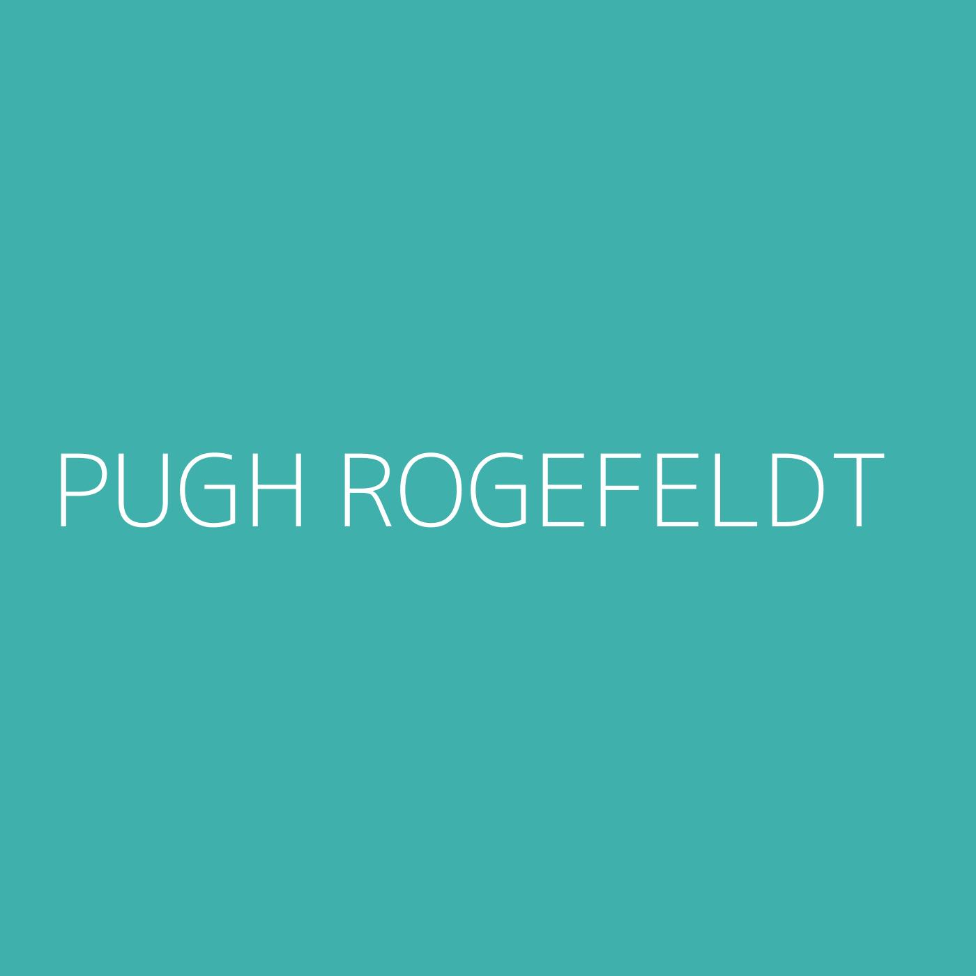 Pugh Rogefeldt Playlist Artwork