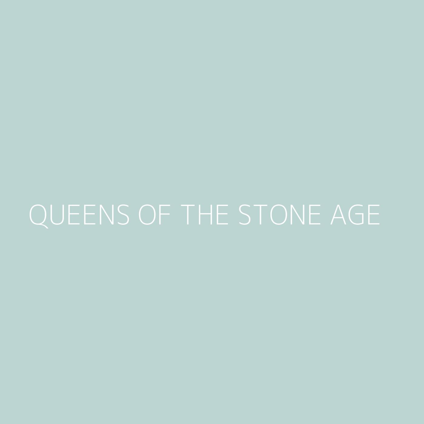 Queens of the Stone Age Playlist Artwork