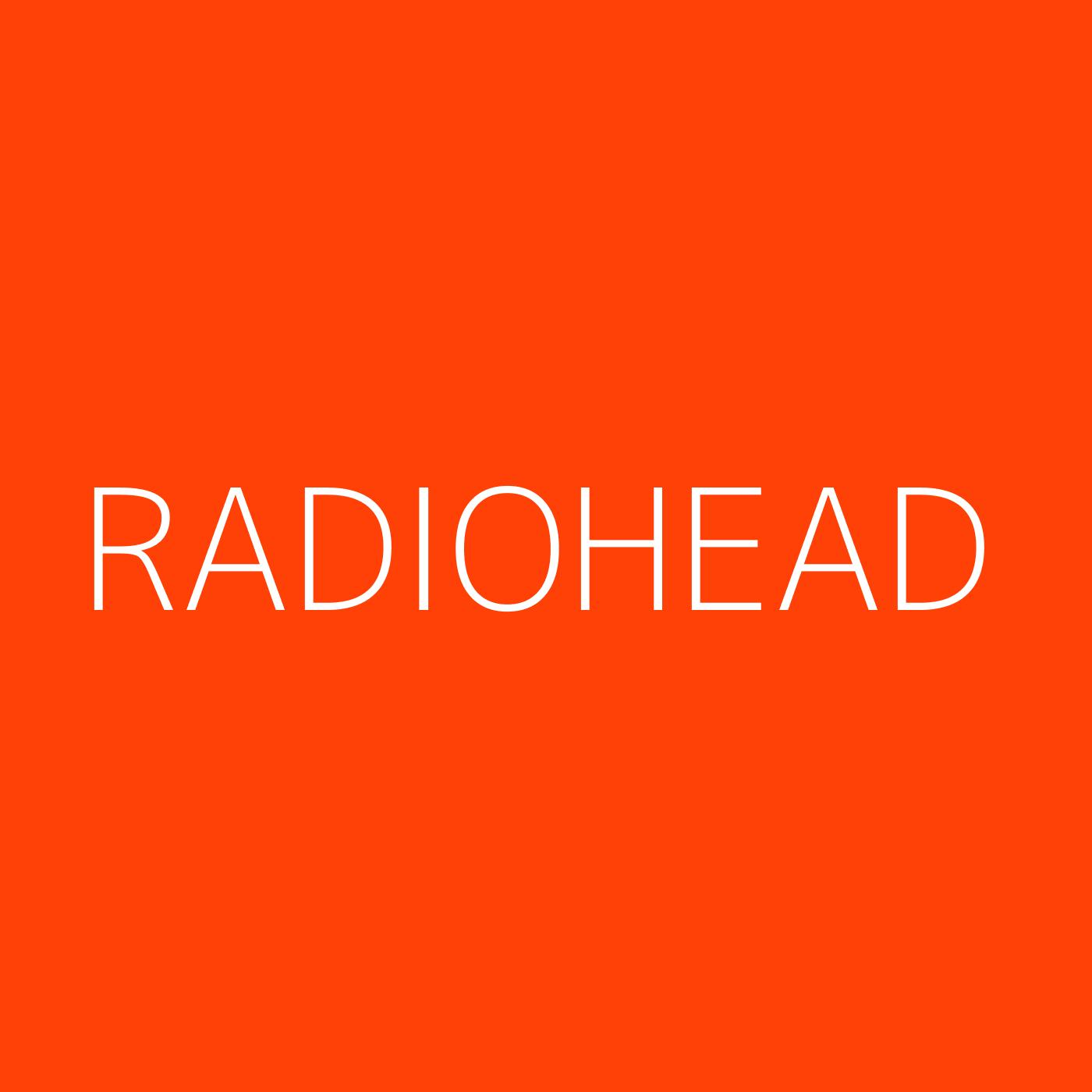 Radiohead Playlist Artwork