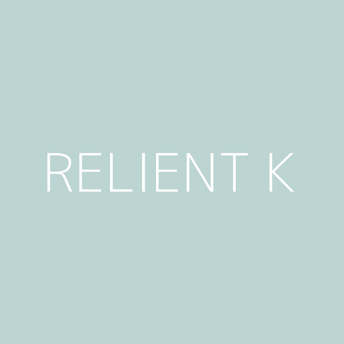 Relient K Playlist Artwork