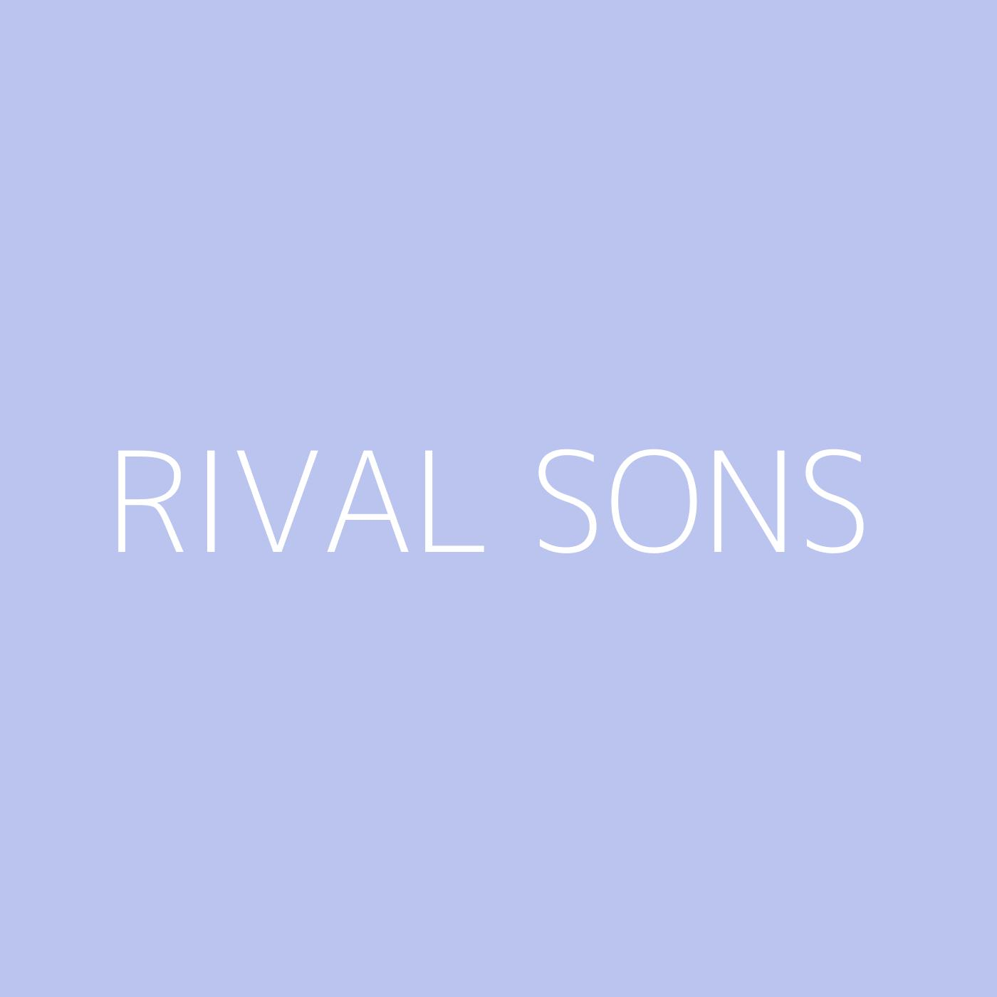 Rival Sons Playlist Artwork