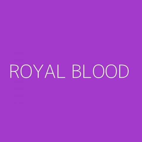Royal Blood Playlist – Most Popular