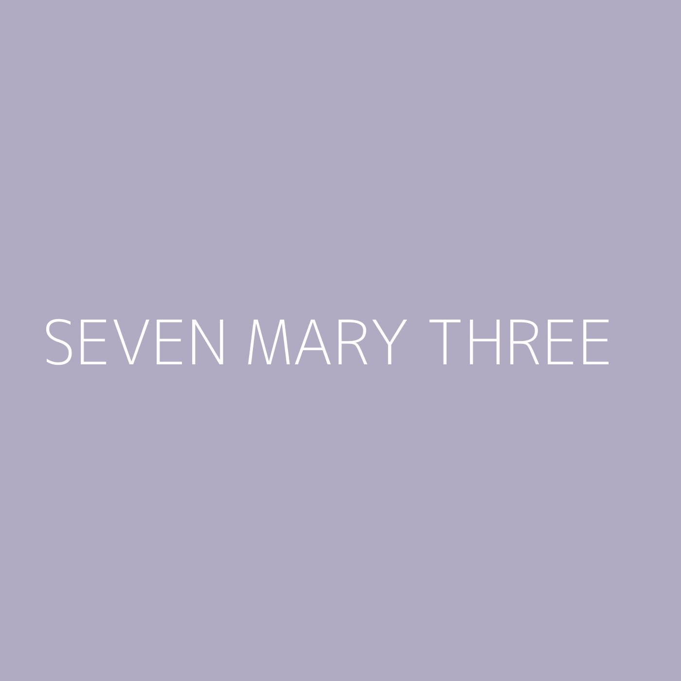 Seven Mary Three Playlist Artwork