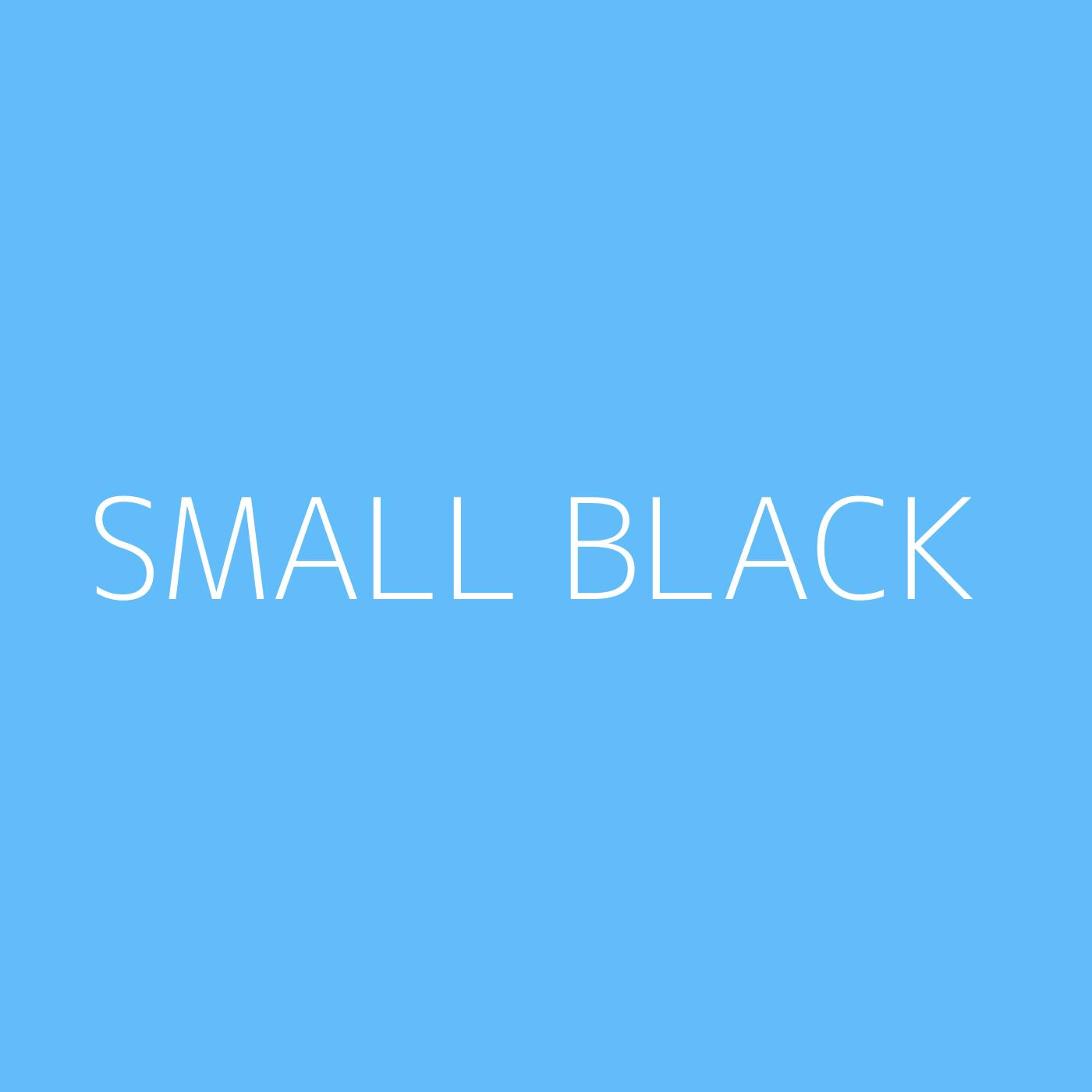 Small Black Playlist Artwork