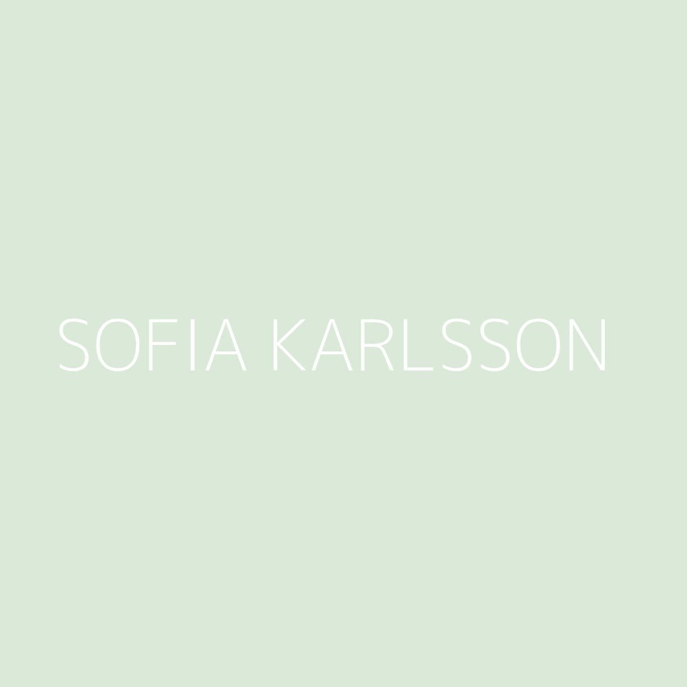 Sofia Karlsson Playlist Artwork