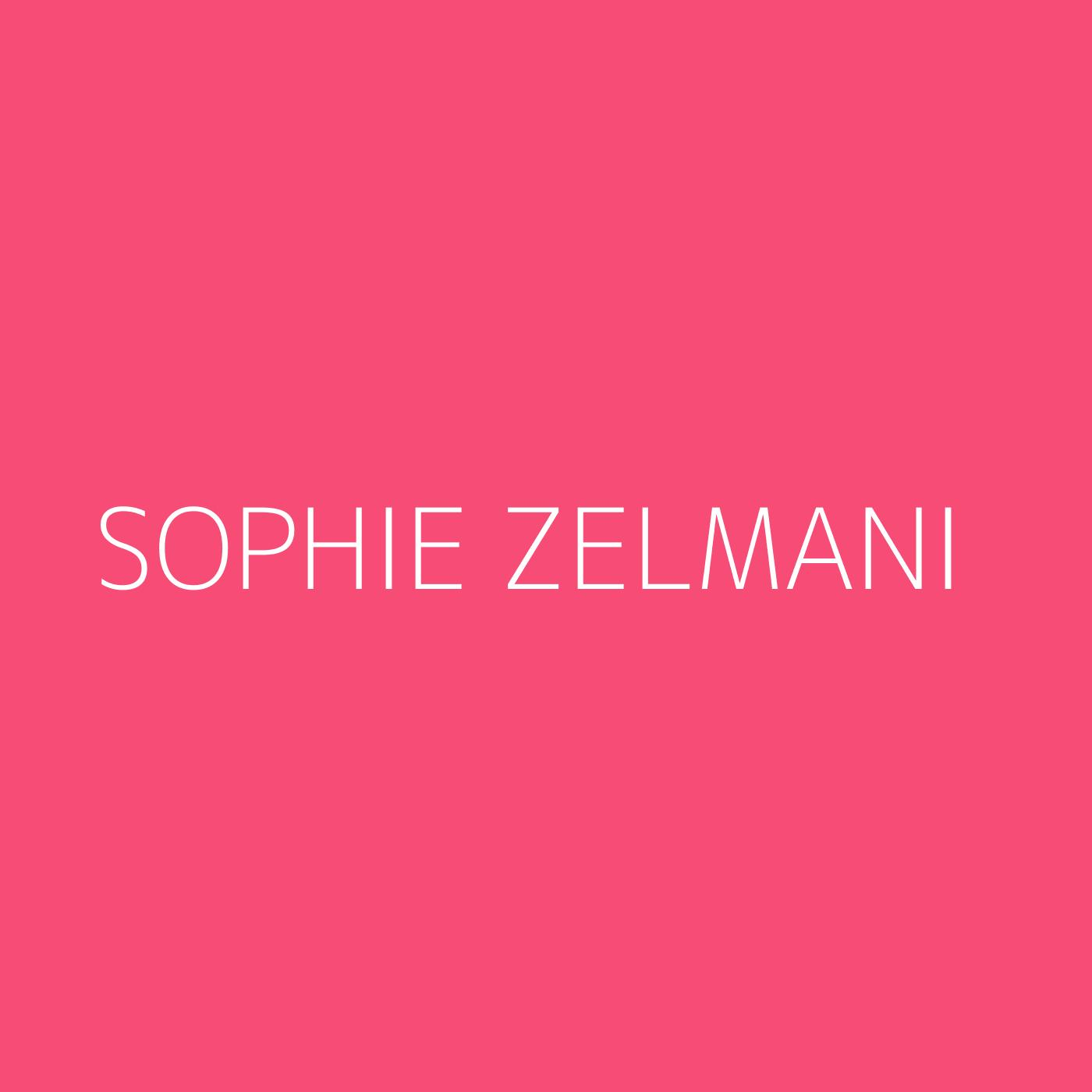 Sophie Zelmani Playlist Artwork