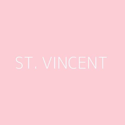 St. Vincent Playlist – Most Popular