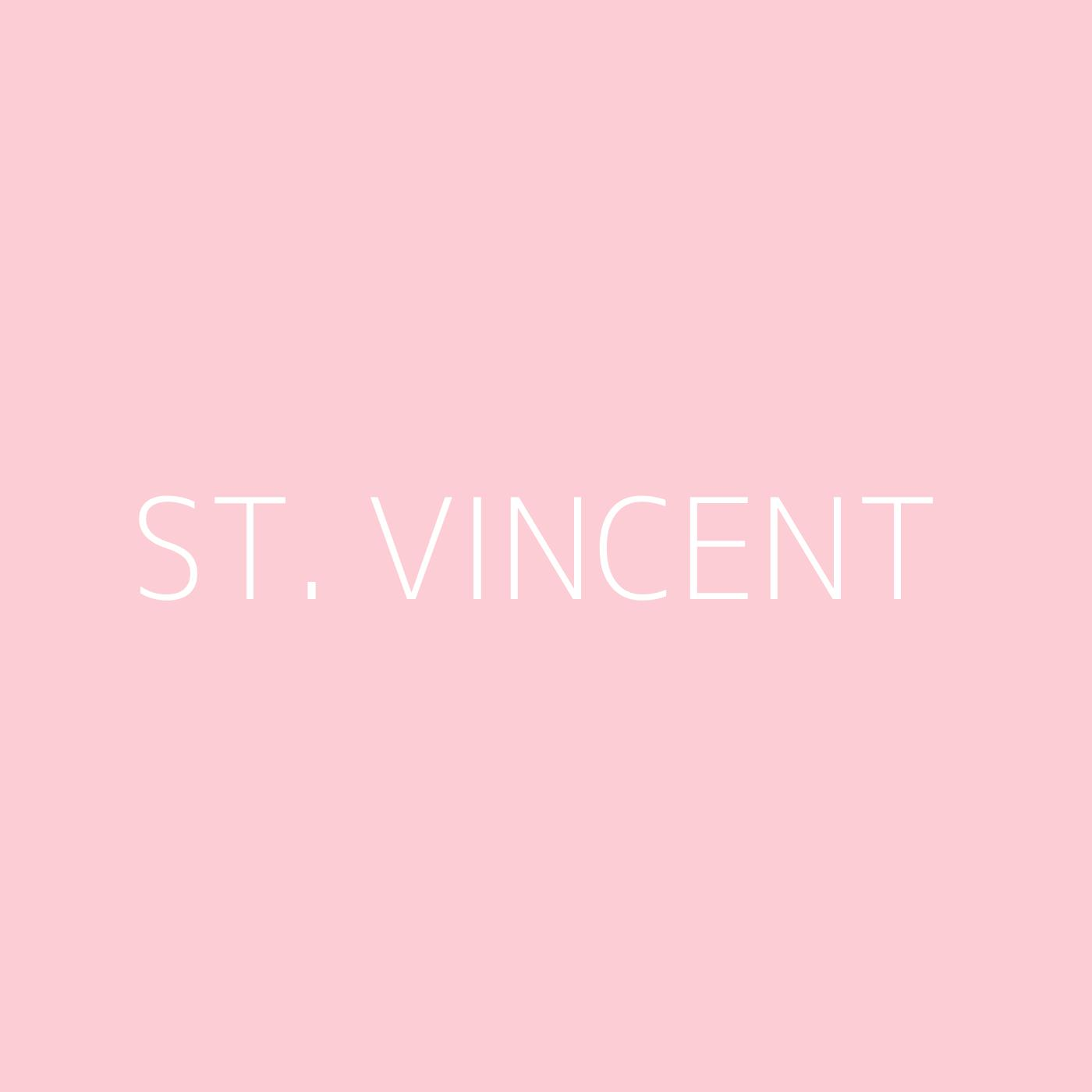St. Vincent Playlist Artwork