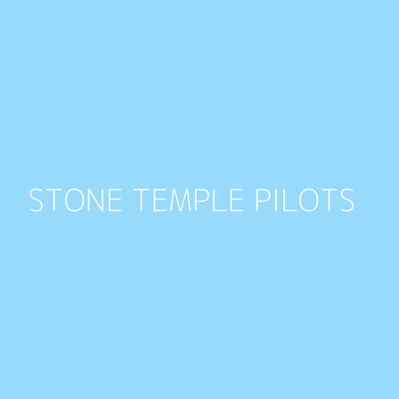 Stone Temple Pilots Playlist Artwork