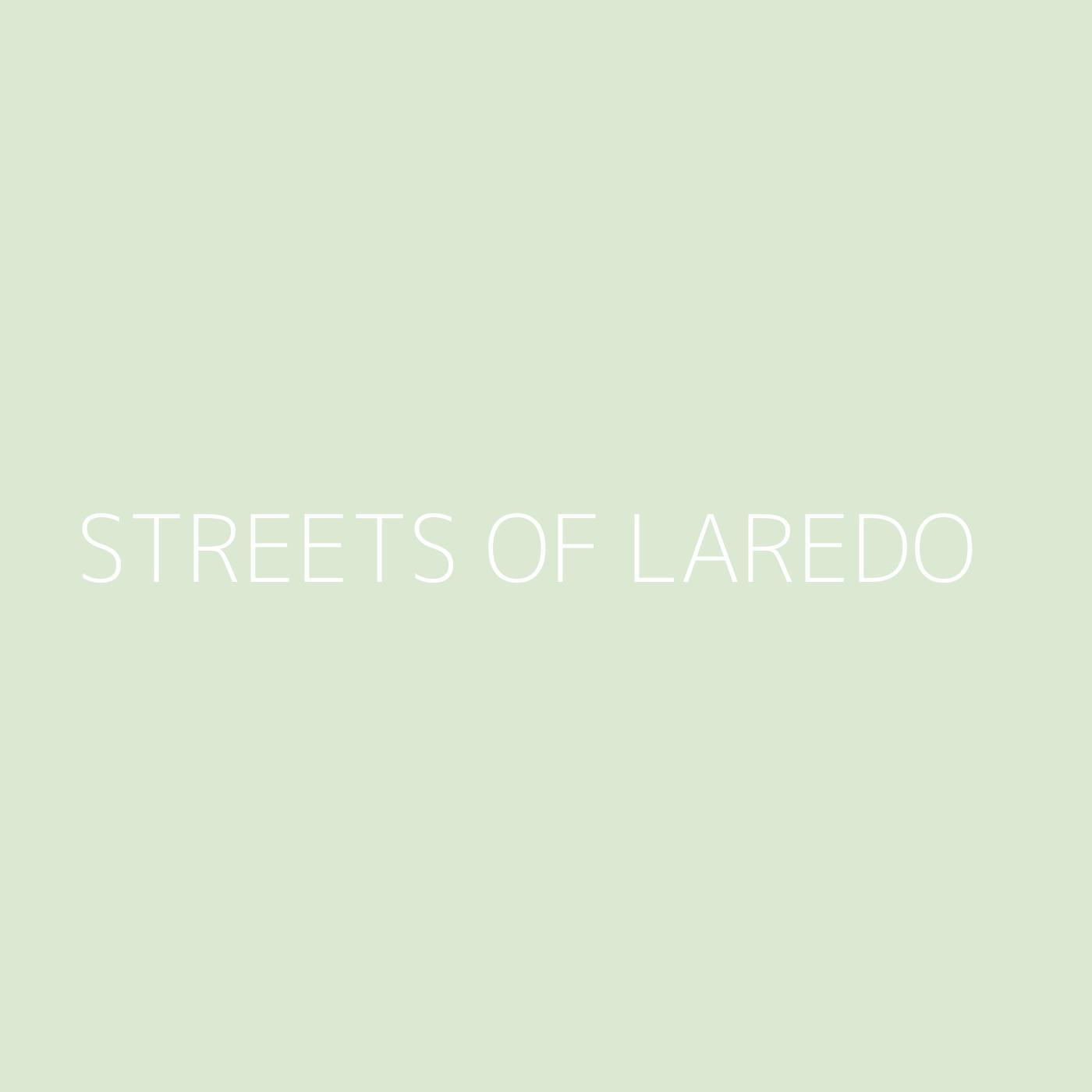 Streets of Laredo Playlist Artwork