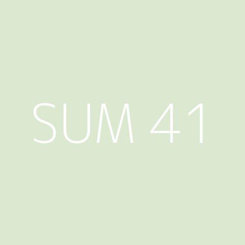 Sum 41 Playlist – Most Popular