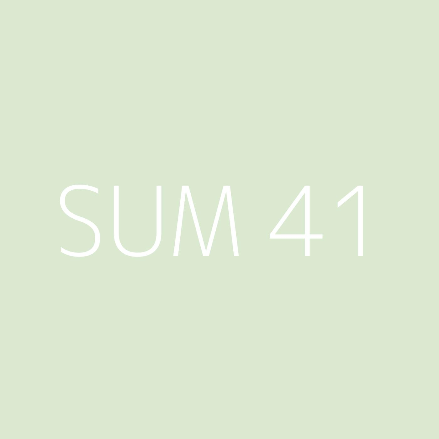 Sum 41 Playlist Artwork