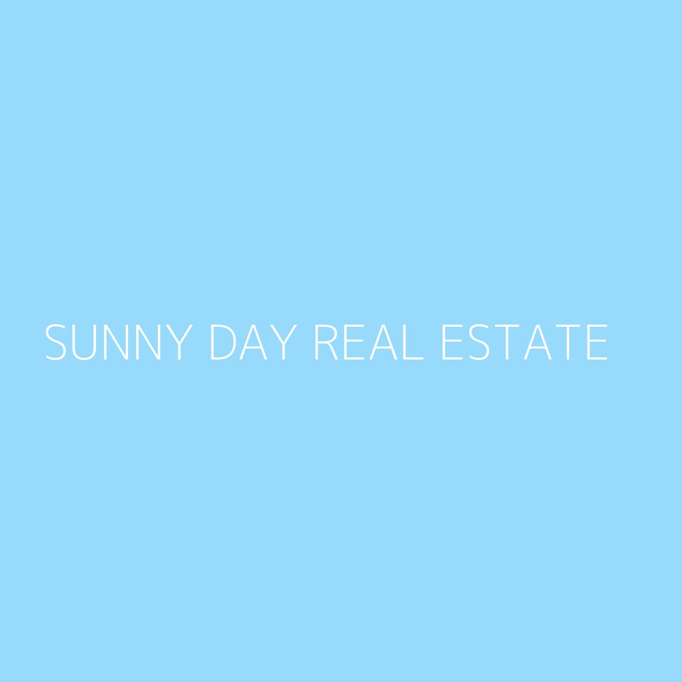 Sunny Day Real Estate Playlist Artwork
