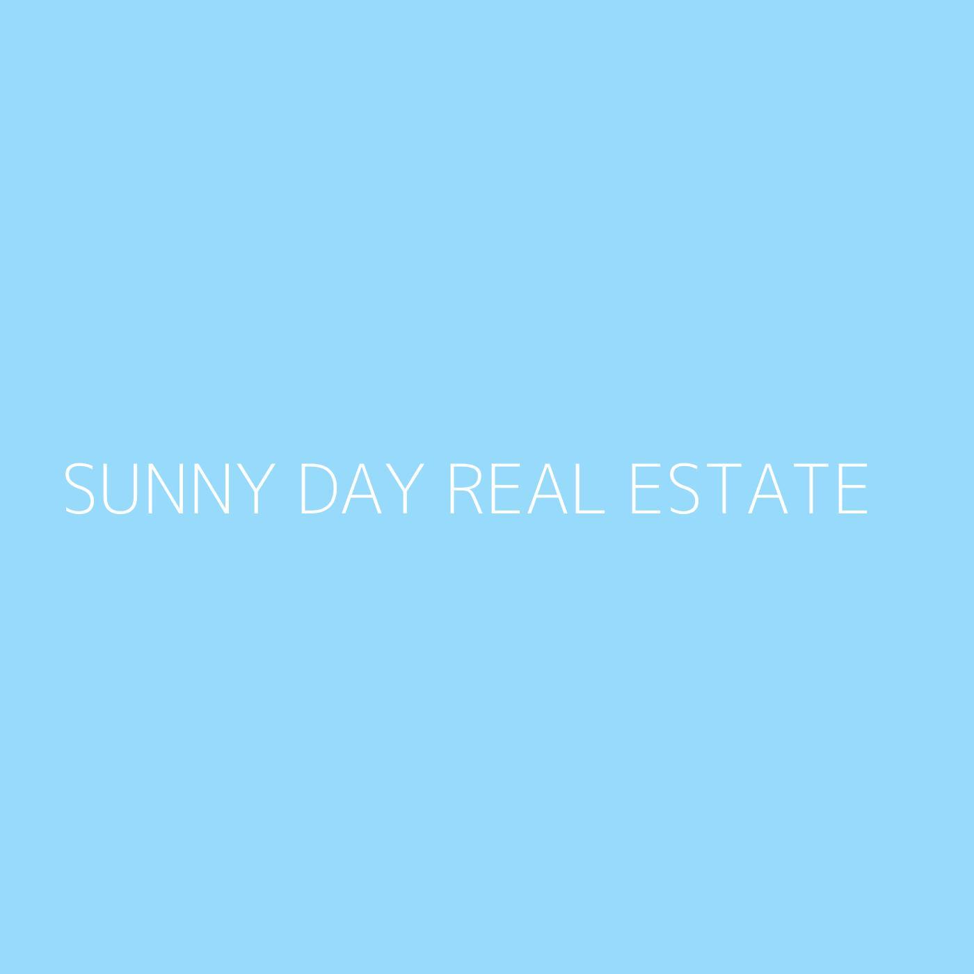 Sunny Day Real Estate Playlist Artwork