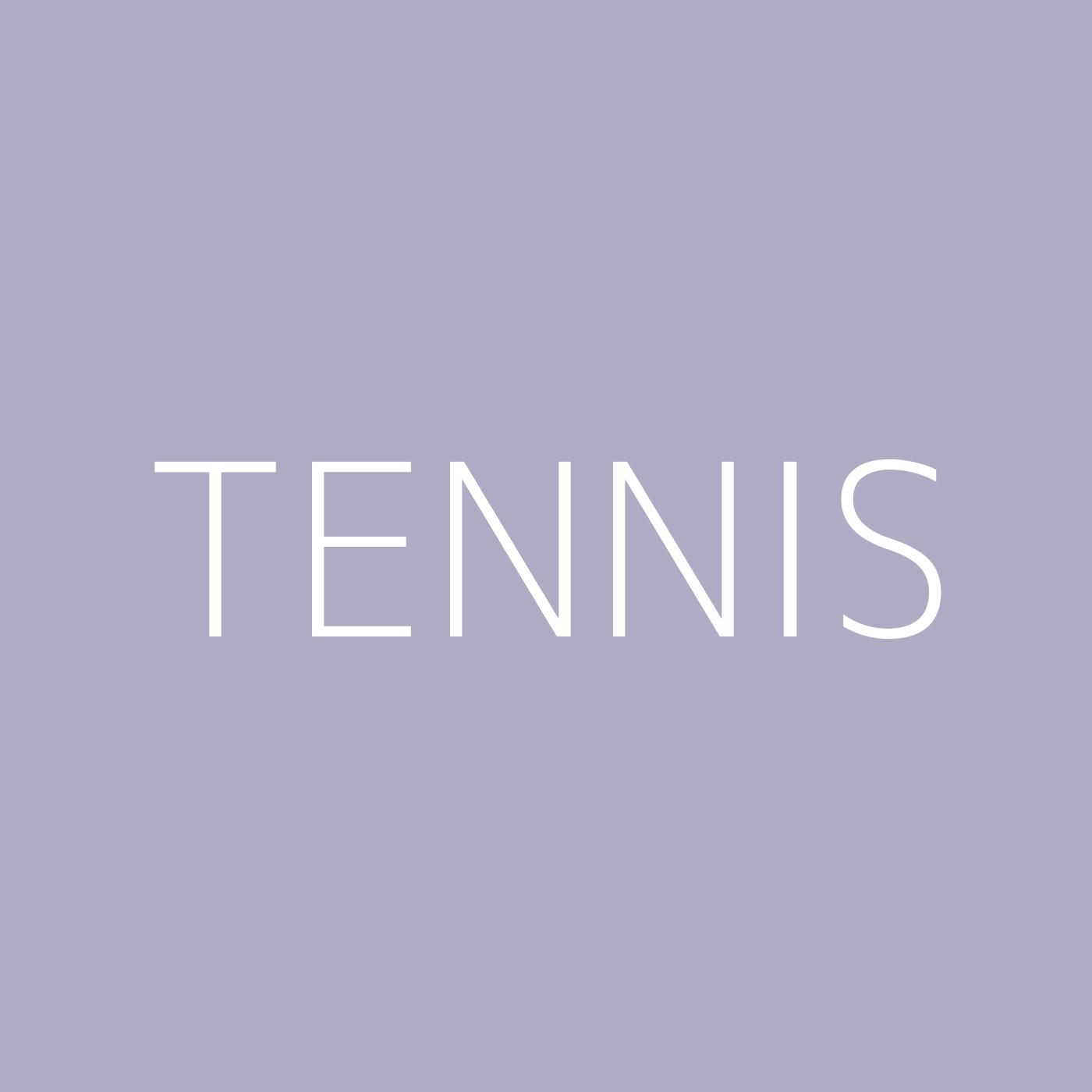 Tennis Playlist Artwork