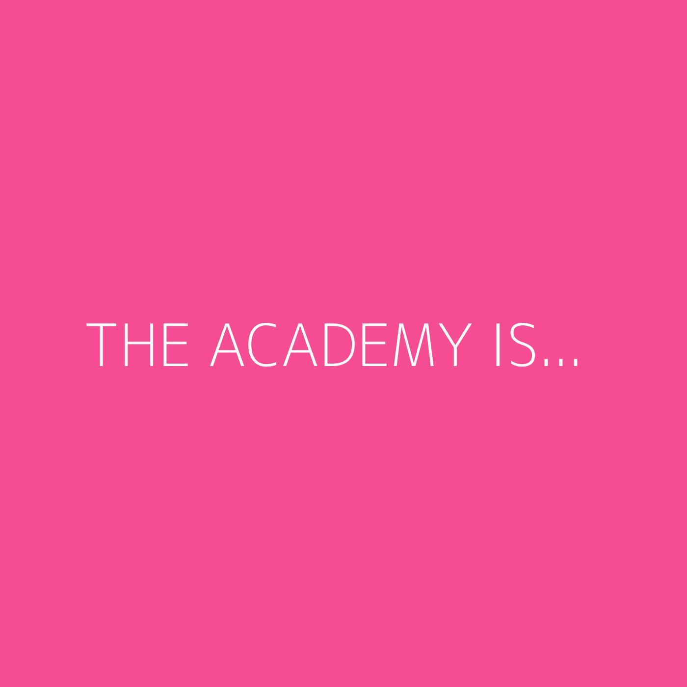 The Academy Is... Playlist Artwork