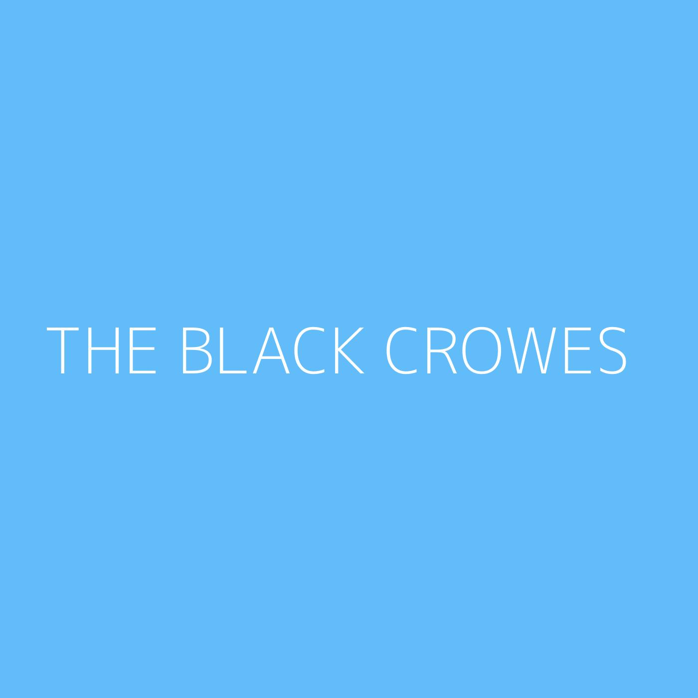 The Black Crowes Playlist Artwork