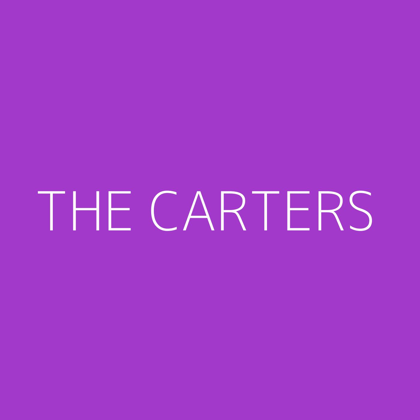 The Carters Playlist Artwork