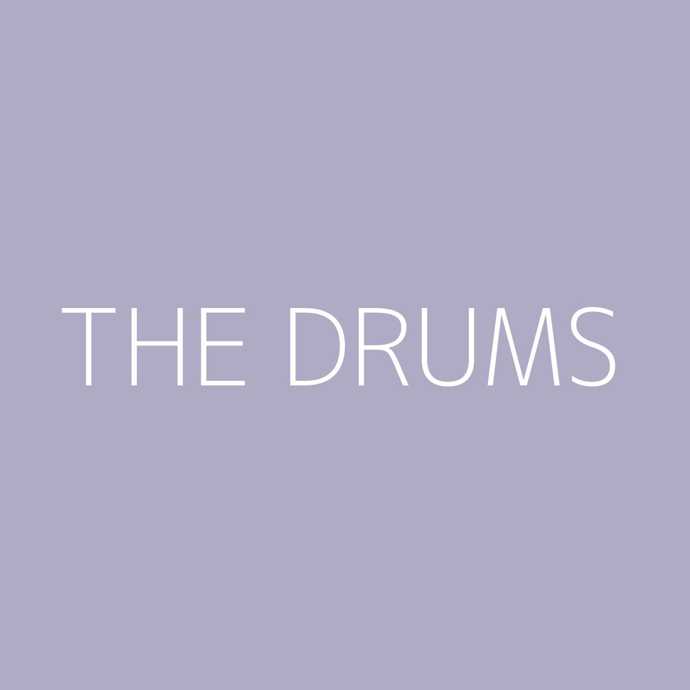 The Drums Playlist Artwork