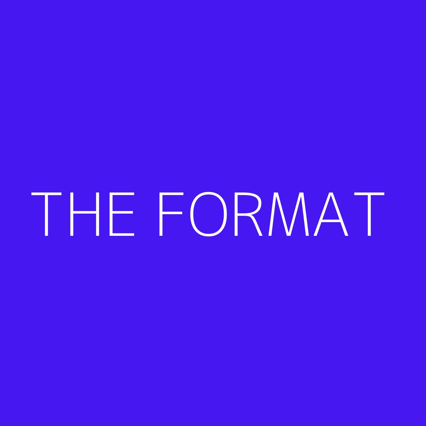 The Format Playlist Artwork