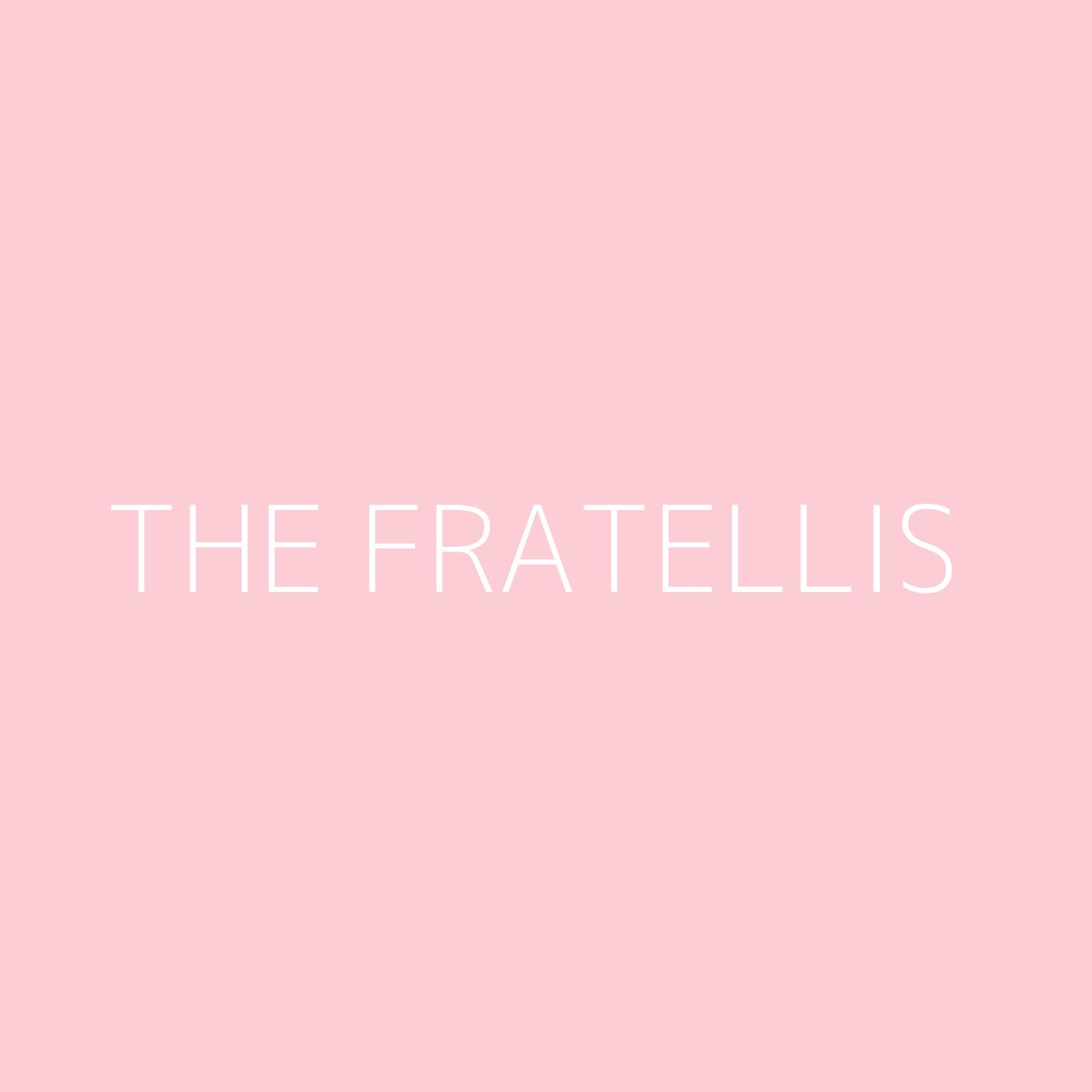 The Fratellis Playlist Artwork