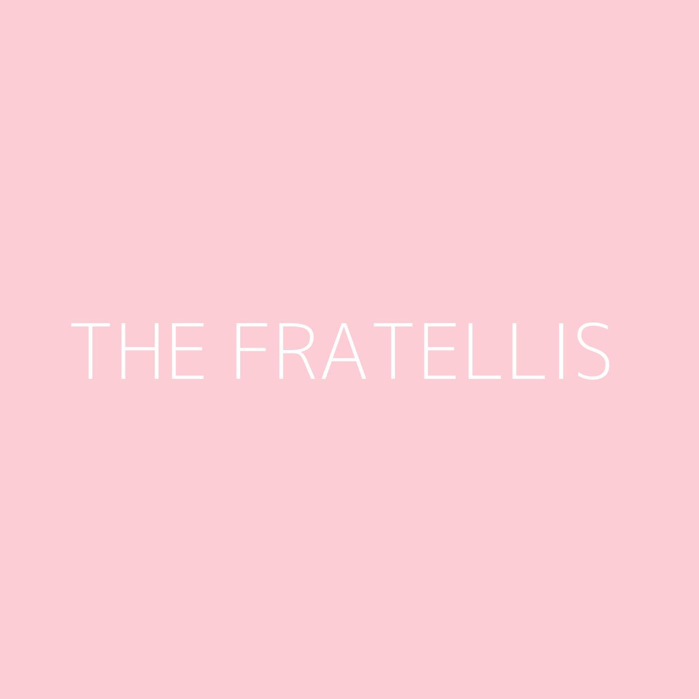 The Fratellis Playlist Artwork