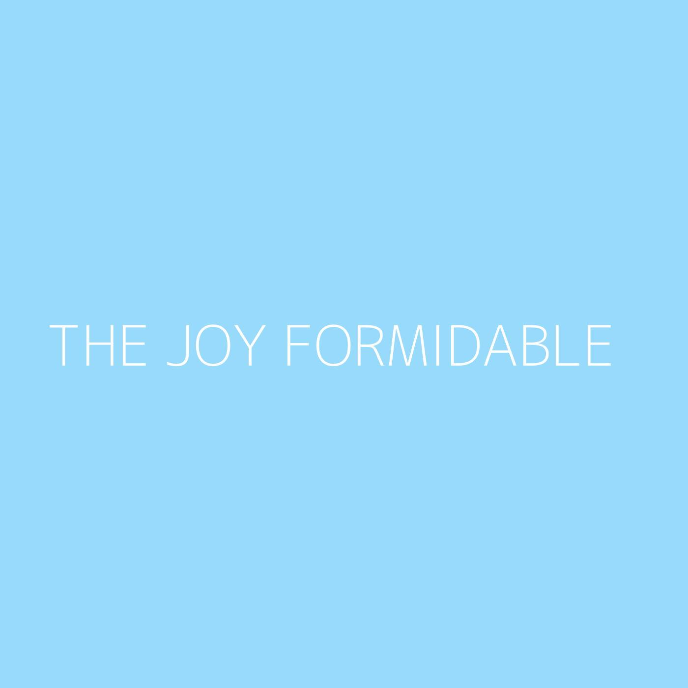 The Joy Formidable Playlist Artwork