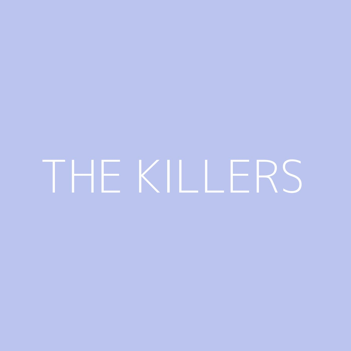 The Killers Playlist Artwork