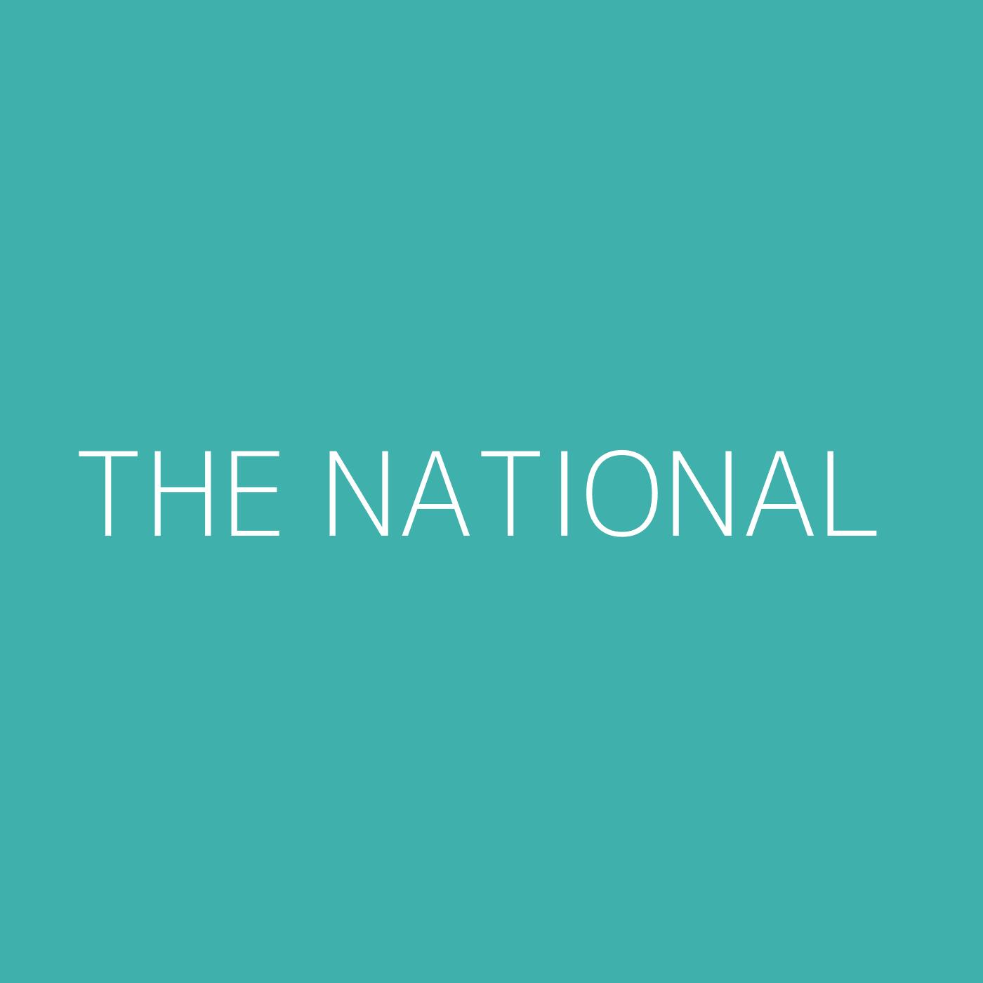 The National Playlist Artwork