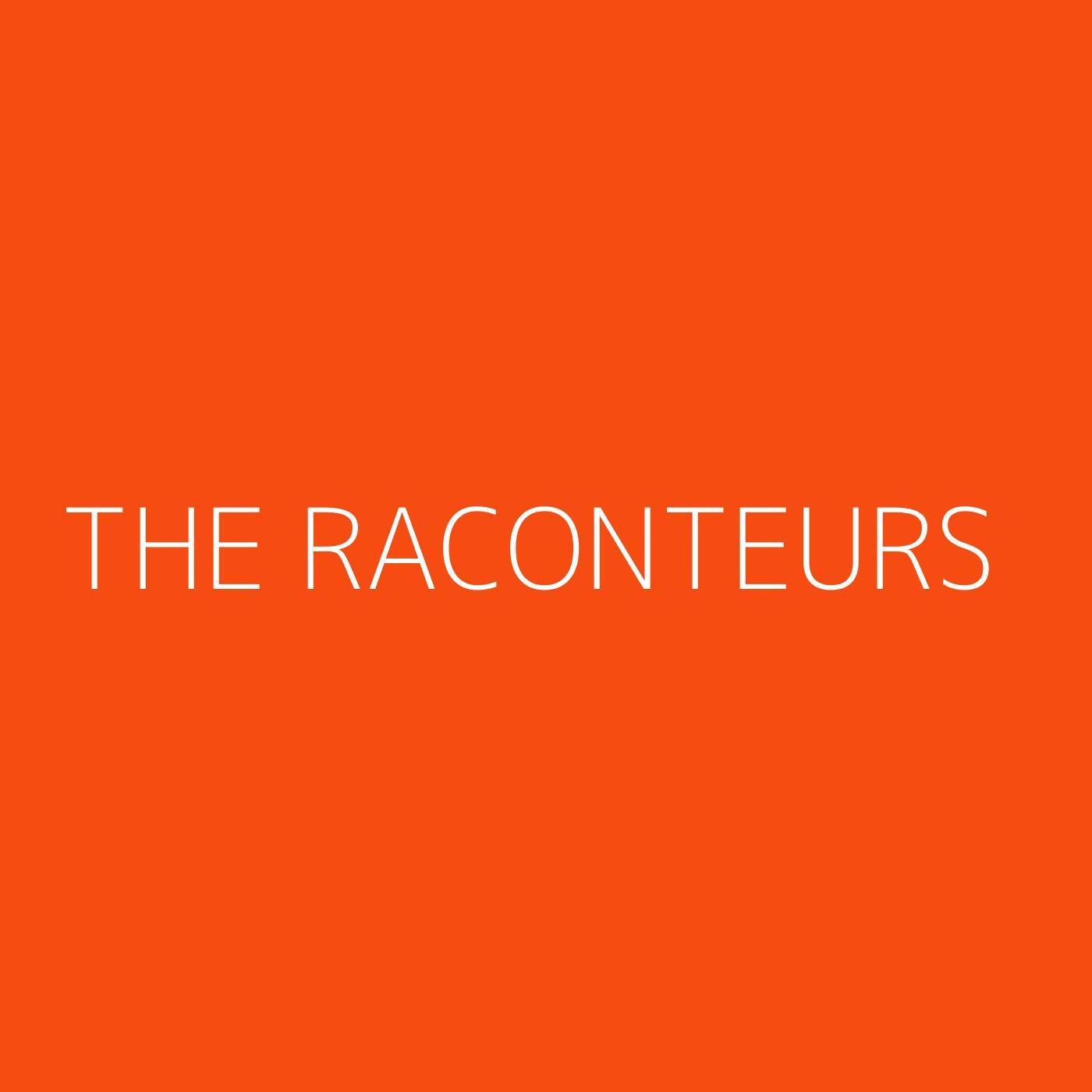 The Raconteurs Playlist Artwork