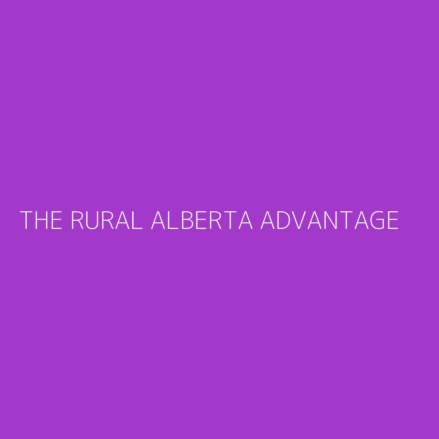 The Rural Alberta Advantage Playlist Artwork