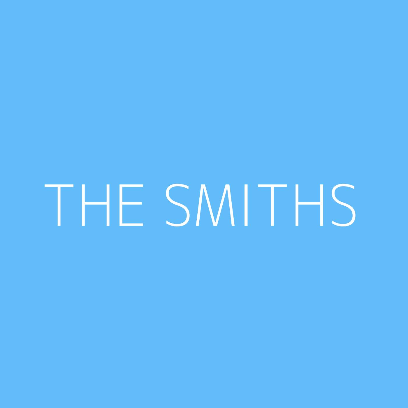 The Smiths Playlist Artwork