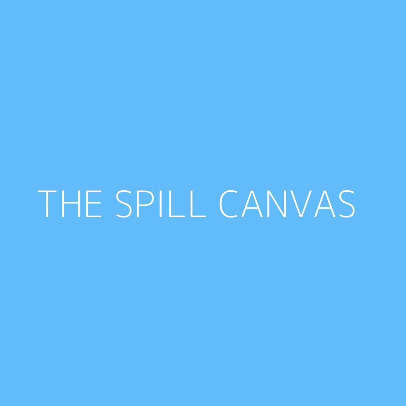 The Spill Canvas Playlist Artwork