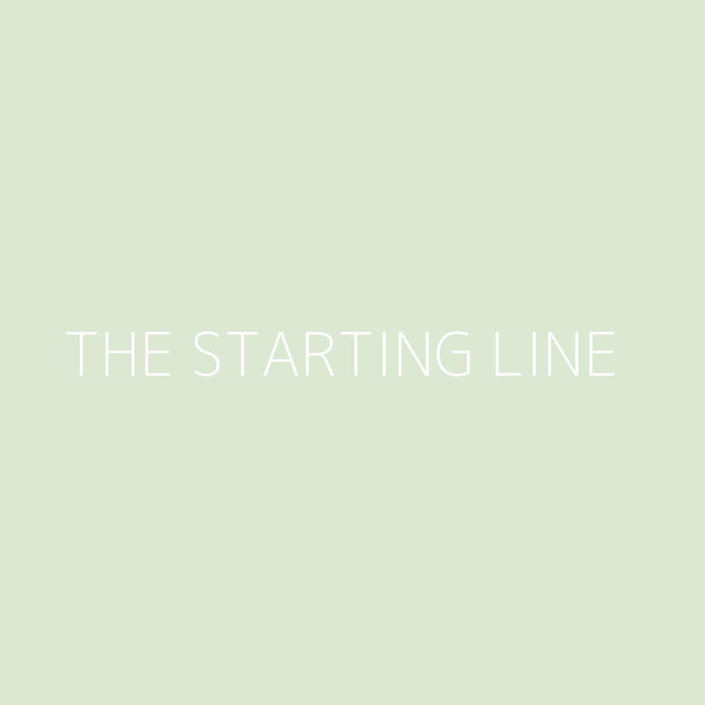 The Starting Line Playlist Artwork