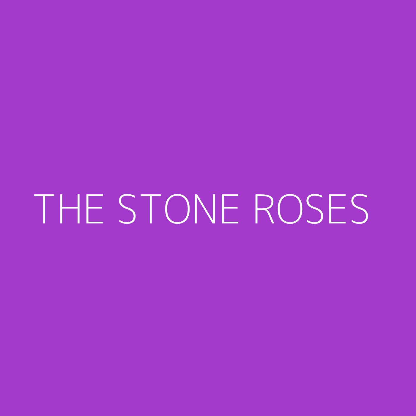 The Stone Roses Playlist Artwork