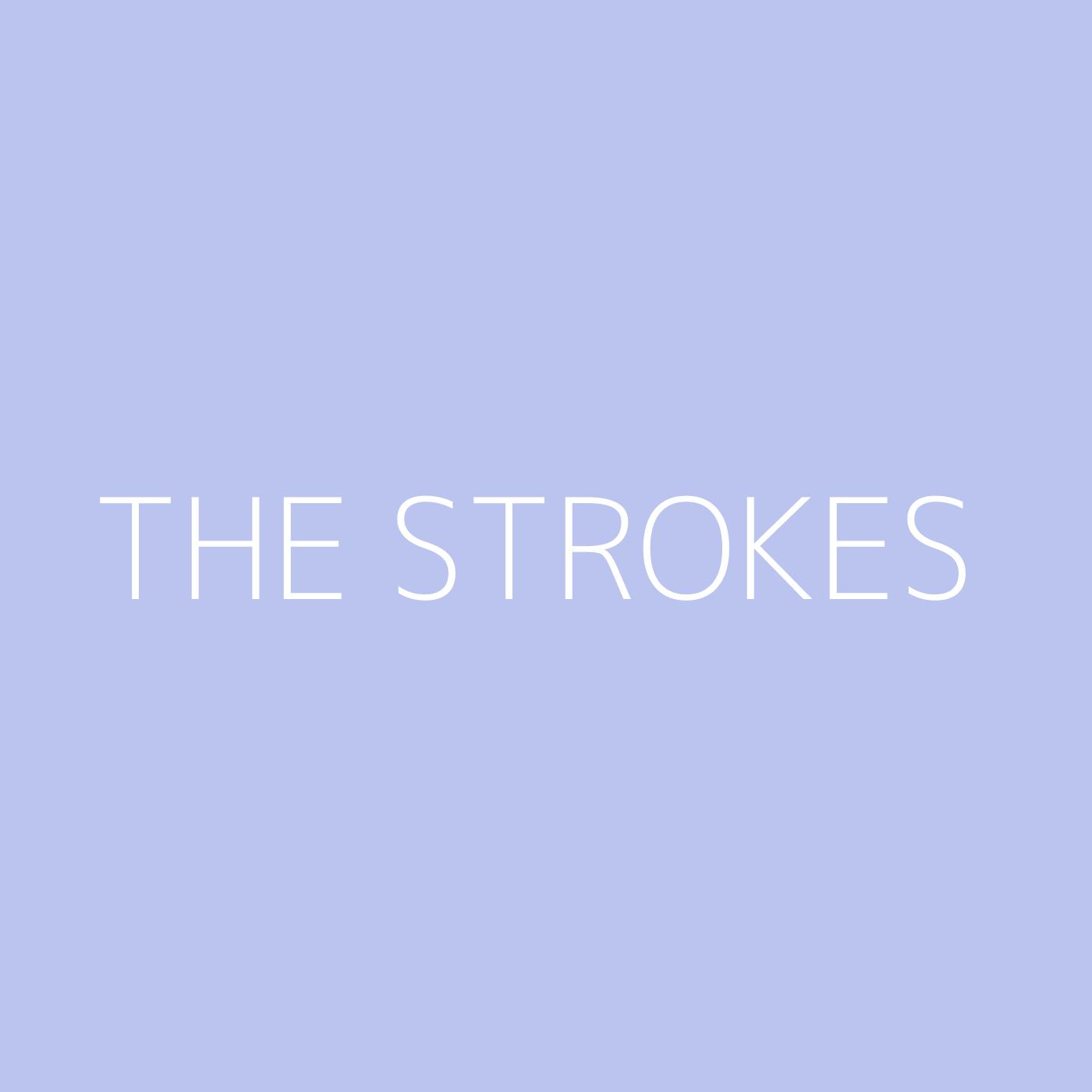 The Strokes Playlist Artwork