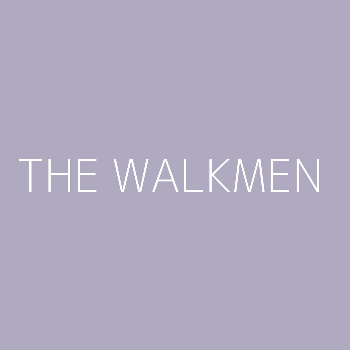 The Walkmen Playlist Artwork