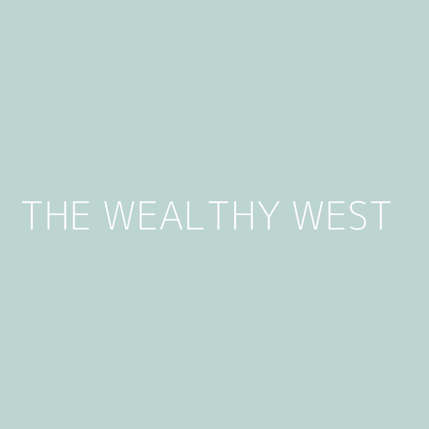 The Wealthy West Playlist Artwork